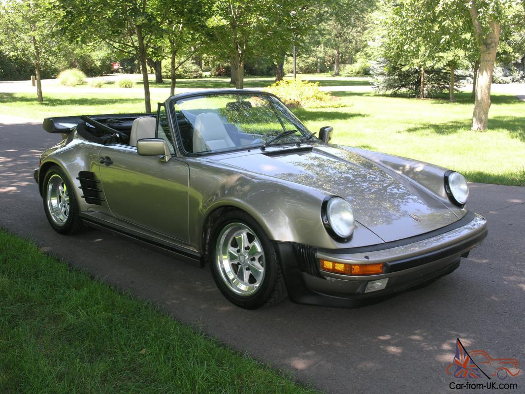 930 Turbo Porsche For Sale >> 1983 Porsche 930 Turbo Cabriolet - Rock Solid Car - New Trans. - Fully Sorted