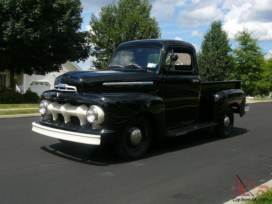 1951 ford f 1 flathead v8 pick up truck Ford motor auto sales