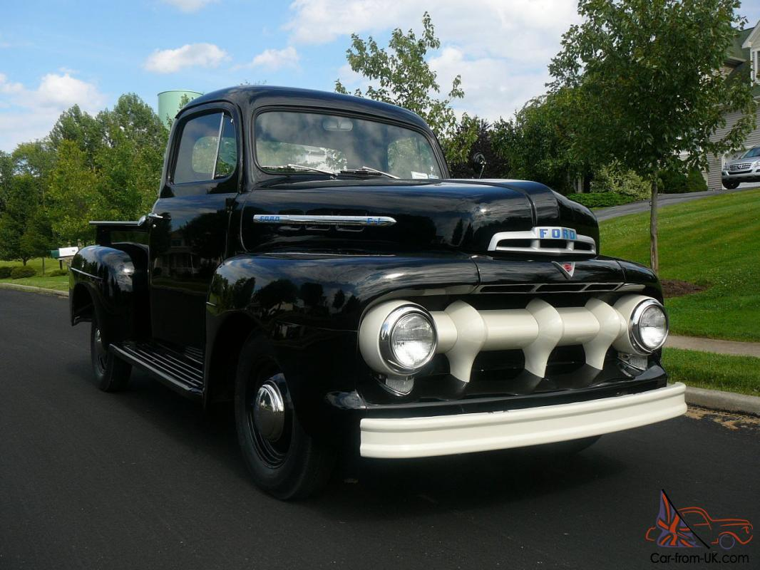 1951 ford f 1 flathead v8 pick up truck. Black Bedroom Furniture Sets. Home Design Ideas