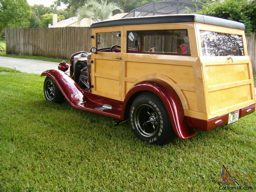 1932 Ford Woodie (Woody) Wagon