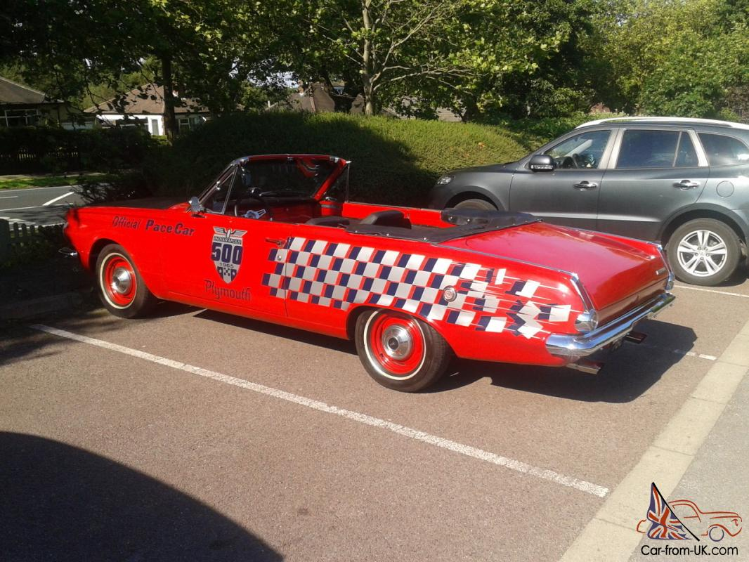 Plymouth Valiant Convertible 1965 1960 For Sale