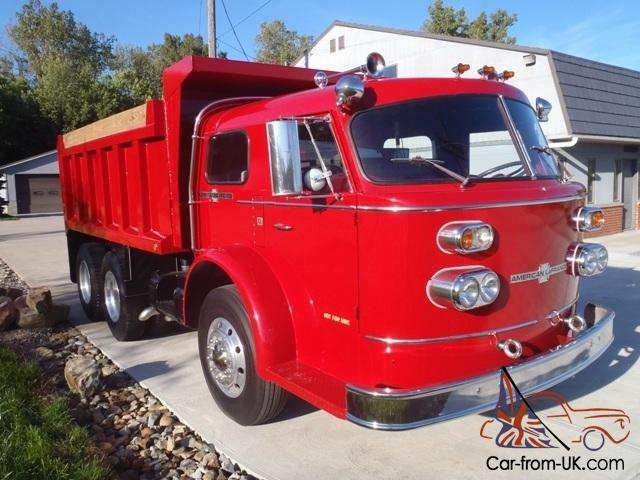 American LaFrance Dump Truck - 1:1 Truck Reference Pictures