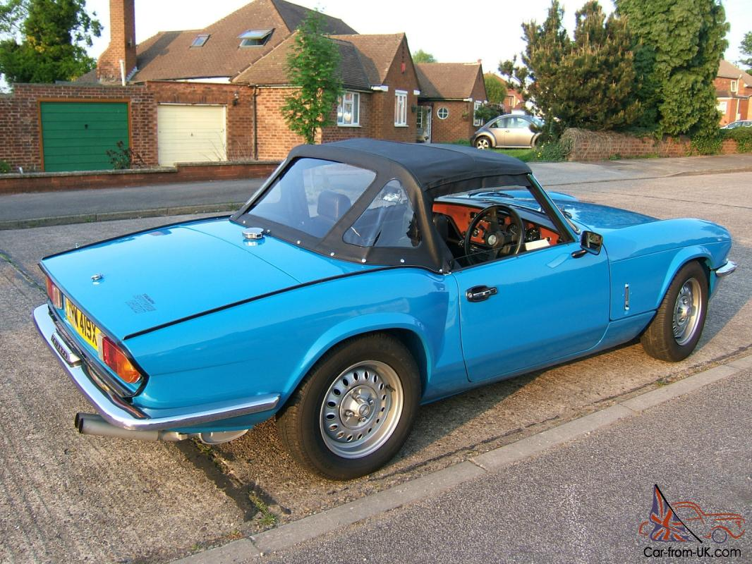 triumph spitfire mk4 1500 with overdrive 1981 convertible. Black Bedroom Furniture Sets. Home Design Ideas