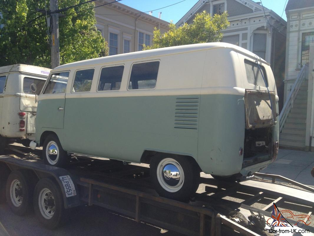 Deluxe window vw microbus for sale pictures for 1959 23 window vw bus for sale