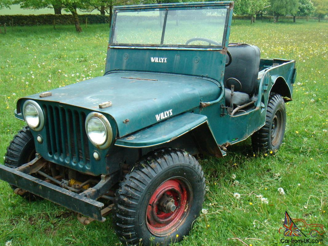 Willys Jeep For Sale >> Willys Jeep Cj2a Classic Jeep