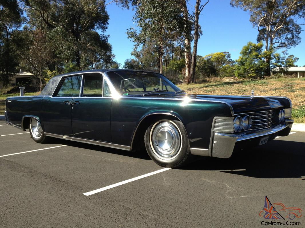 1965 Lincoln Continental RHD Ford Cadillac