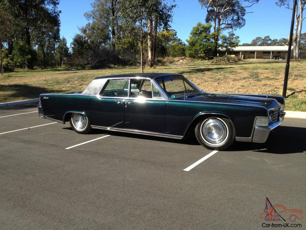 1965 lincoln continental rhd ford cadillac. Black Bedroom Furniture Sets. Home Design Ideas