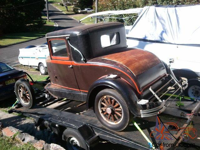 Whippet Car: 1930 Willys Whippet Sports Coupe Rare 96A Tourer Parts In