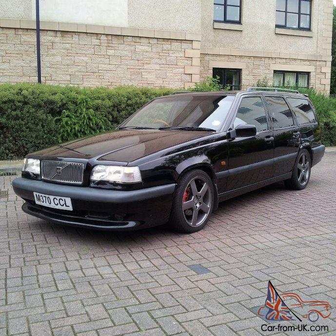 1995 volvo 850 855 t5r black full service history 310bhp rica remap ex con. Black Bedroom Furniture Sets. Home Design Ideas