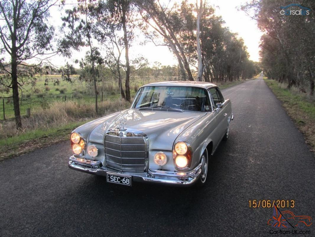 Mercedes benz 280se 1968 w111 coupe like new in ovens for 1968 mercedes benz