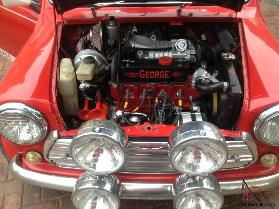 Mini 1275 gt modified supercharged only 1 in uk show car winner