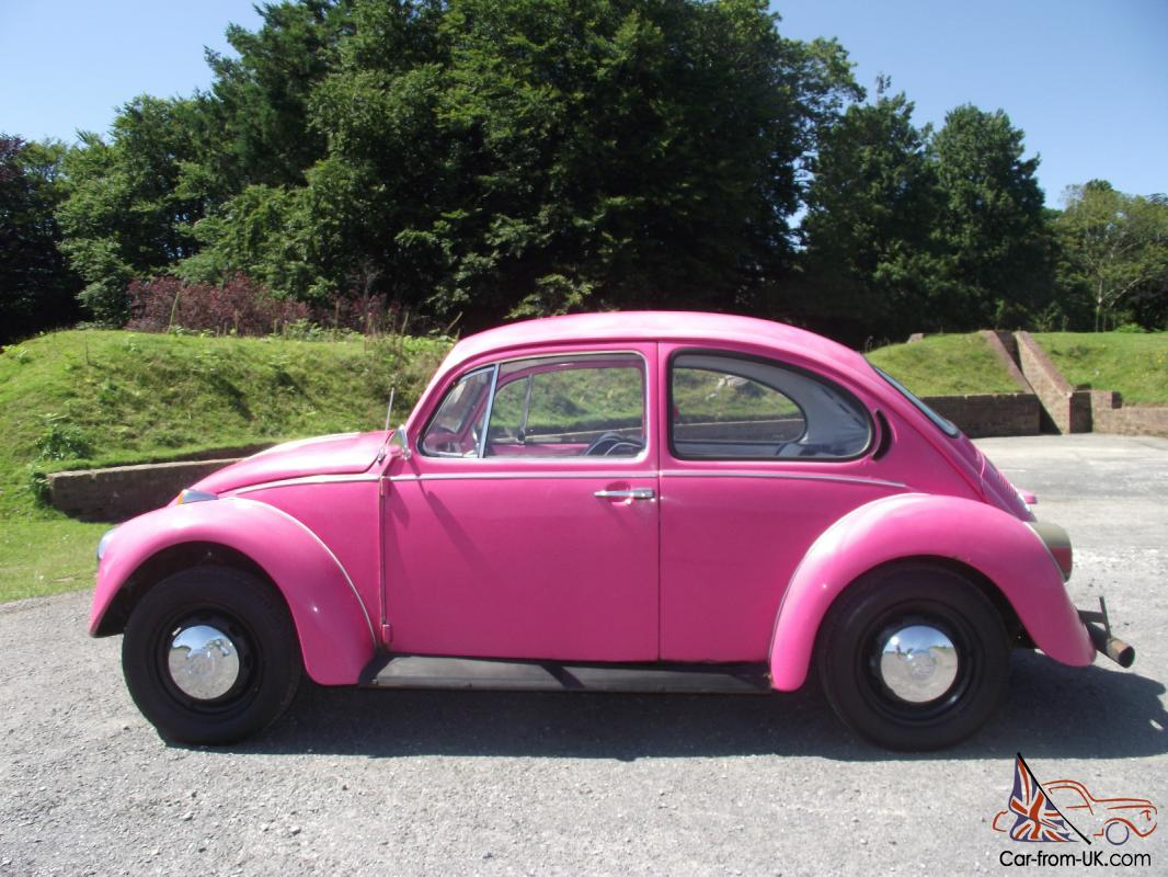 CLASSIC 1973 VW BEETLE 1303 PINK - EXCELLENT CONDITION