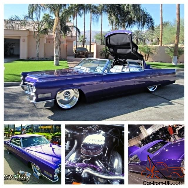 1966 Cadillac Deville Convertible Custom Show Tv Car With