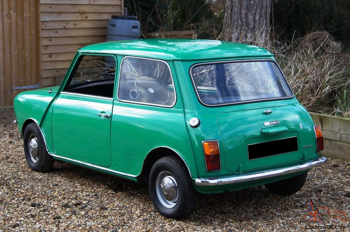 1973 austin mini clubman 998 auto 3 owners good condition fully serviced. Black Bedroom Furniture Sets. Home Design Ideas