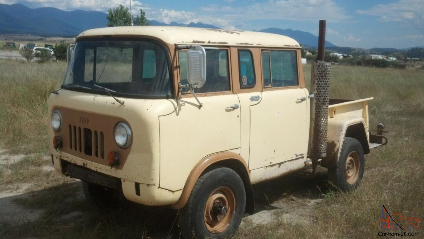 Coe Truck For Sale Craigslist >> 1964 JEEP WILLYS MILITARY FC-170 M-677 FORWARD CONTROL: VERY RARE! RUNS GREAT!