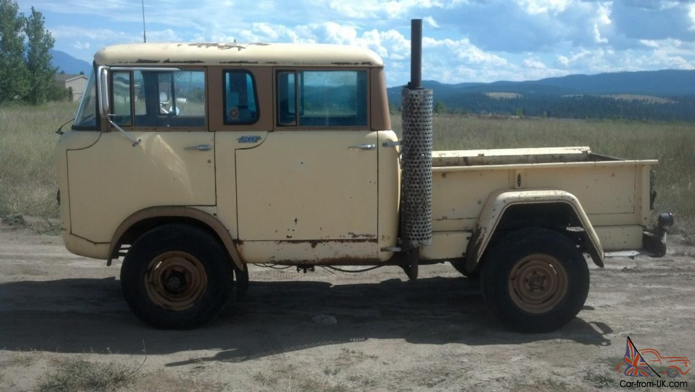 Jeep Fc Crew Cab For Sale >> 1964 JEEP WILLYS MILITARY FC-170 M-677 FORWARD CONTROL: VERY RARE! RUNS GREAT!