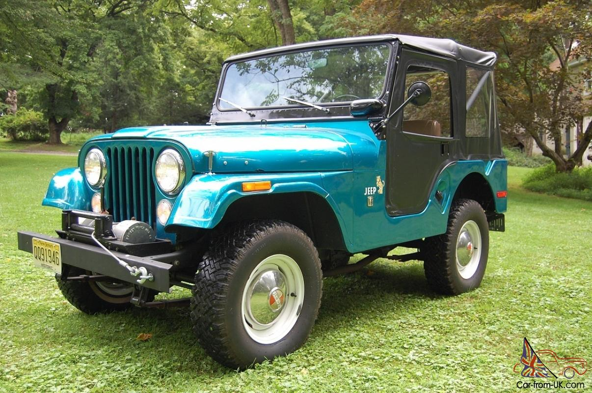 gorgeous restored 1969 jeep cj 5 convertible original v6 engine 3 speed man. Black Bedroom Furniture Sets. Home Design Ideas