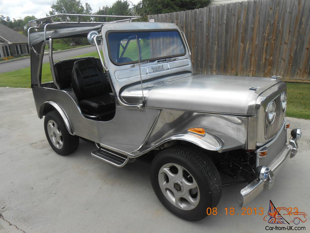 1976 Jeep Cj 5 Stainless Steel One Of A Kind