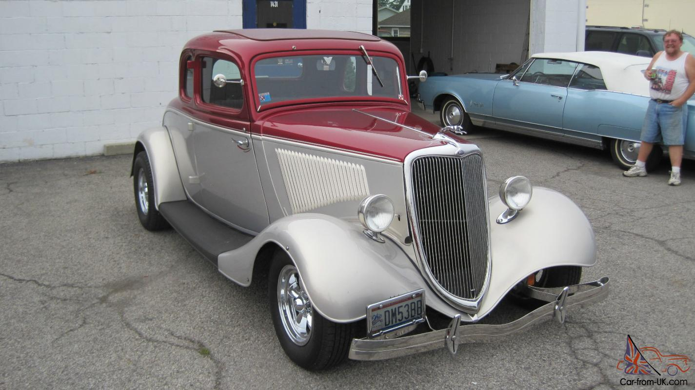 1934 ford 5 window coupe hot rod street rod 302 for 1934 ford 5 window
