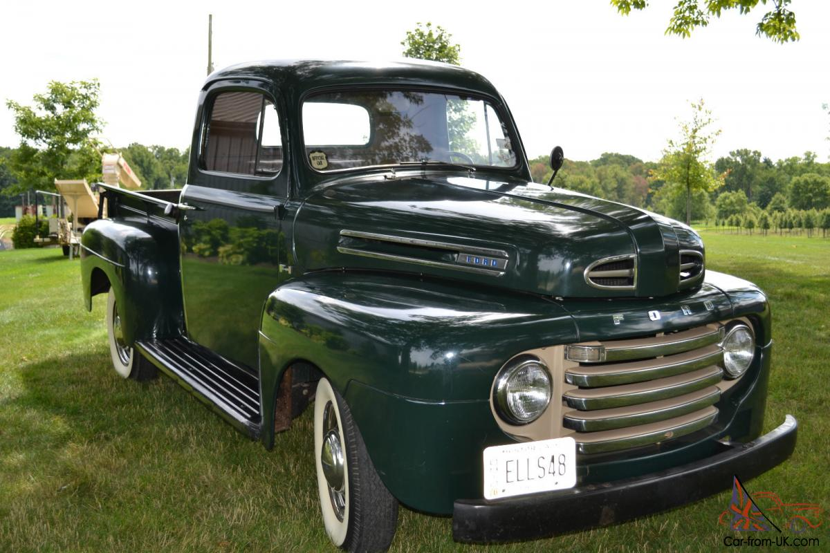 1948 ford f 1 pick up truck. Black Bedroom Furniture Sets. Home Design Ideas
