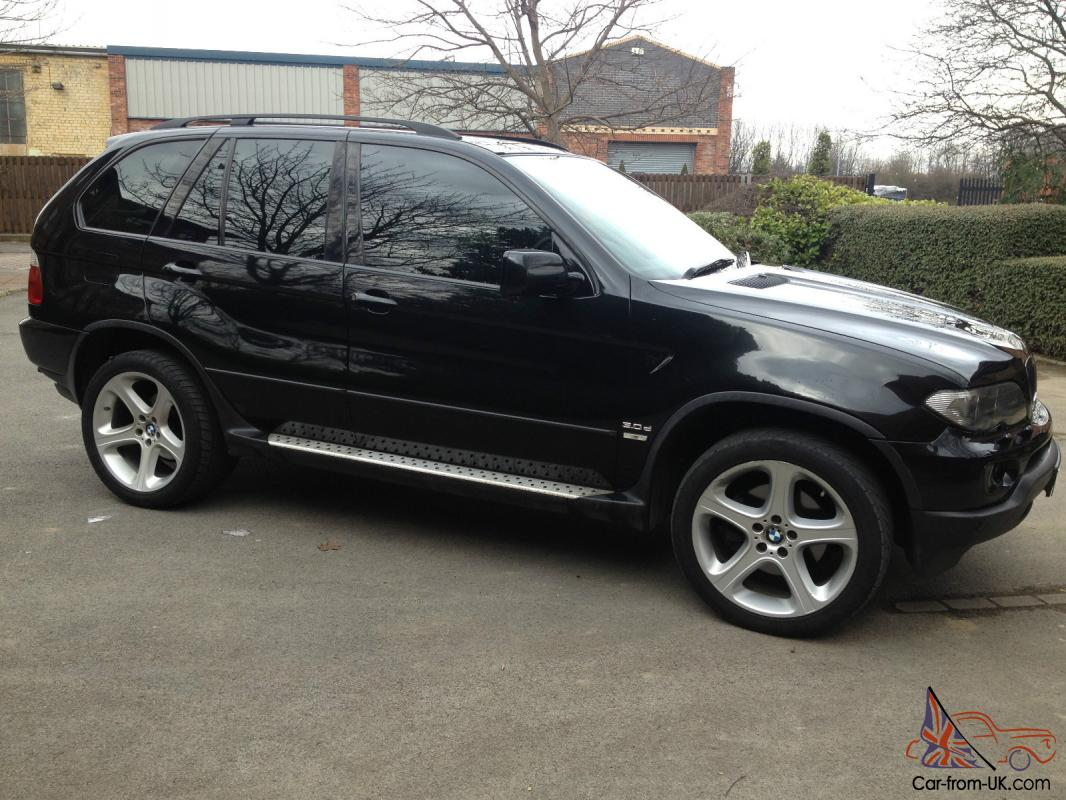 2004 bmw x5 sport d auto black facelift bargain hpi clear p x. Black Bedroom Furniture Sets. Home Design Ideas