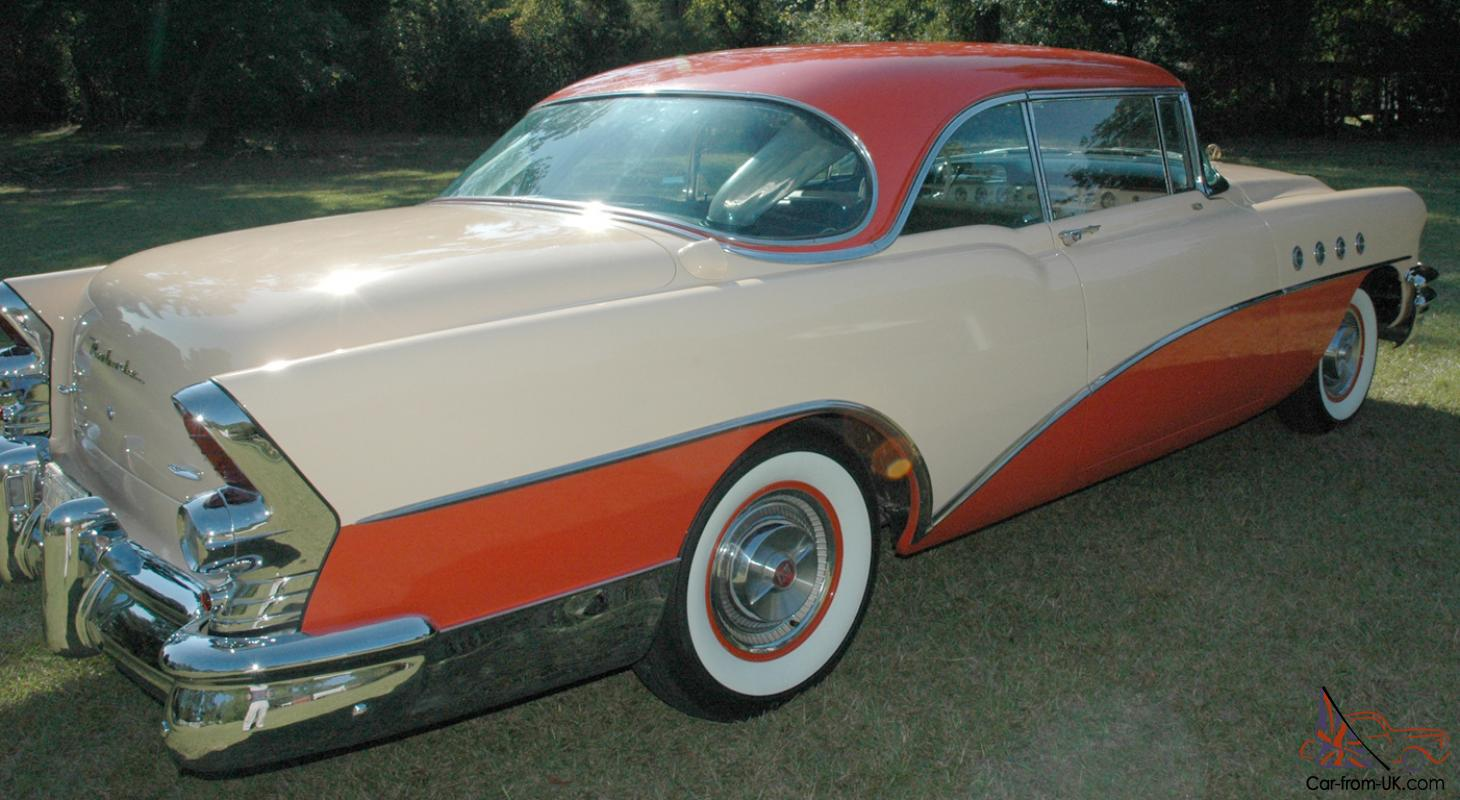 1955 buick roadmaster riviera 2dr ht w factory air ps pb. Cars Review. Best American Auto & Cars Review