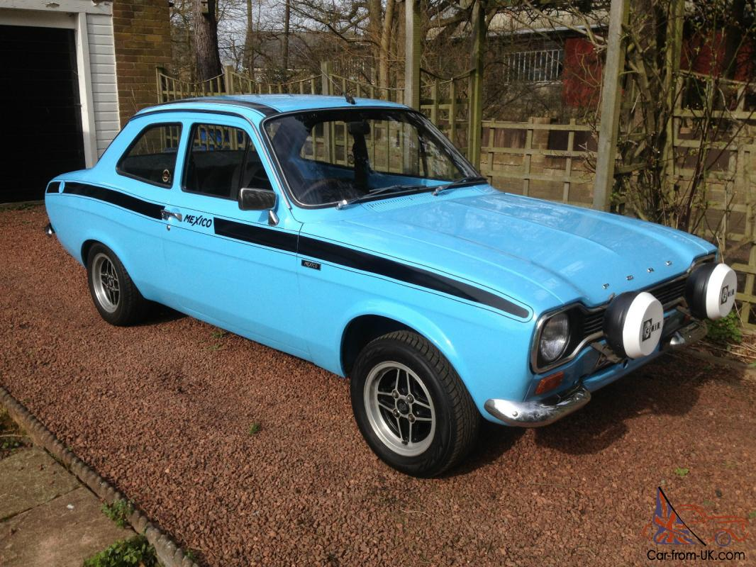 19774 FORD ESCORT MK1 MEXICO BLUE