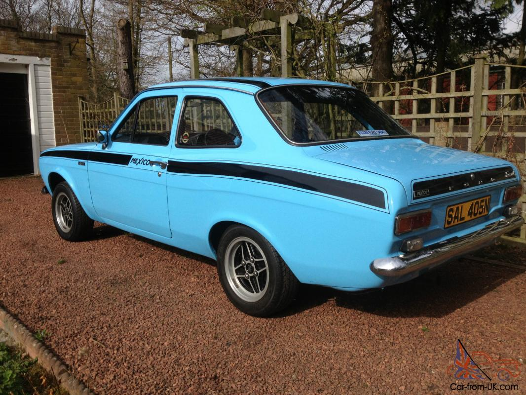19774 ford escort mk1 mexico blue. Black Bedroom Furniture Sets. Home Design Ideas