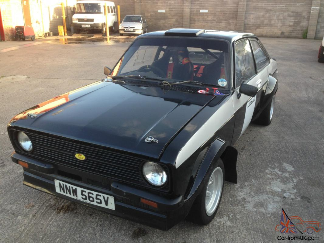 Ford Escort Mk2 RS2000 Rally car 99p start no reserve