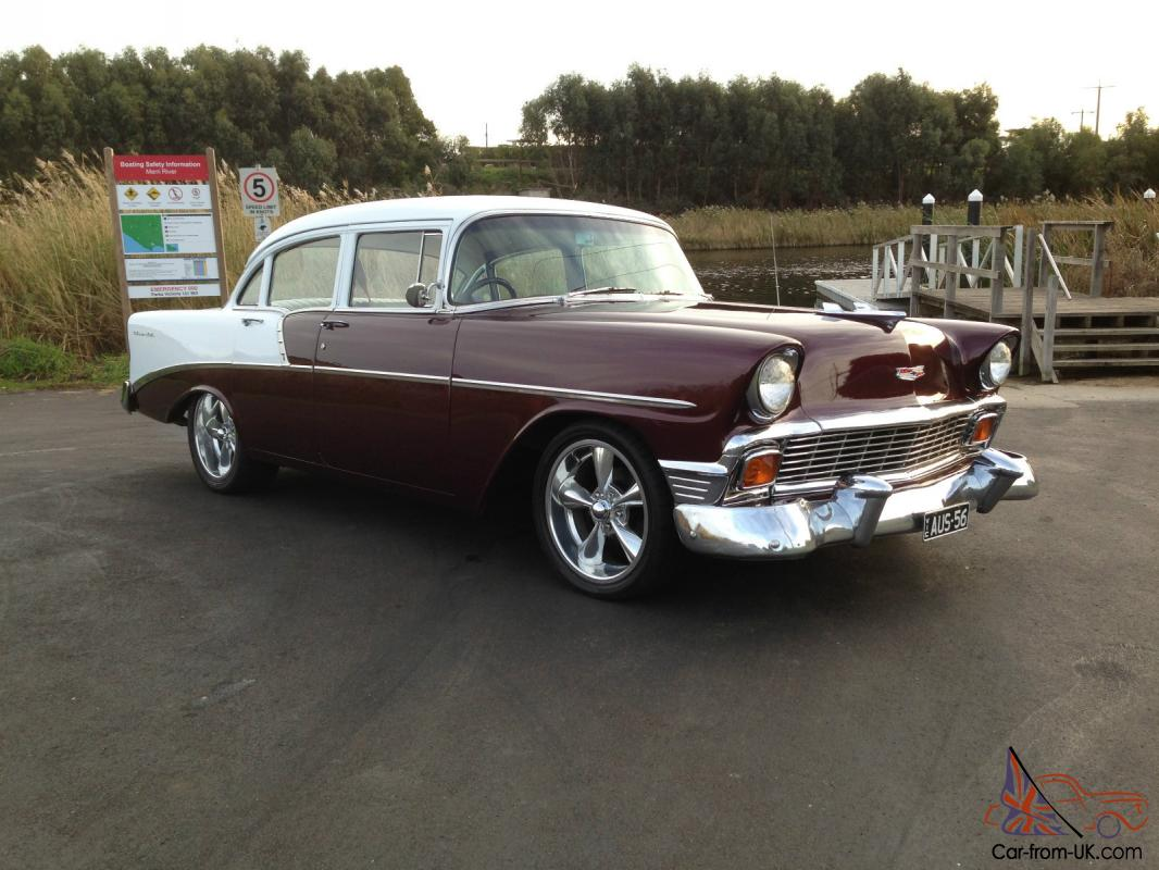 Chevrolet belair 1956 4 door sedan in western district vic for 1956 chevy belair 4 door for sale