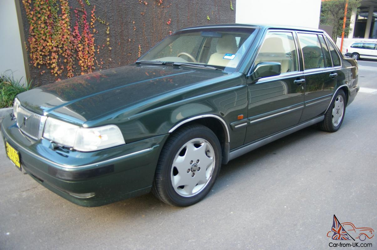 1996 volvo 9 60 luxury le sedan auto only 104400km full history no reserve in sydney nsw. Black Bedroom Furniture Sets. Home Design Ideas