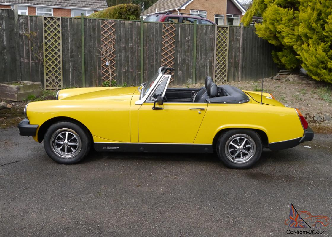mg midget value