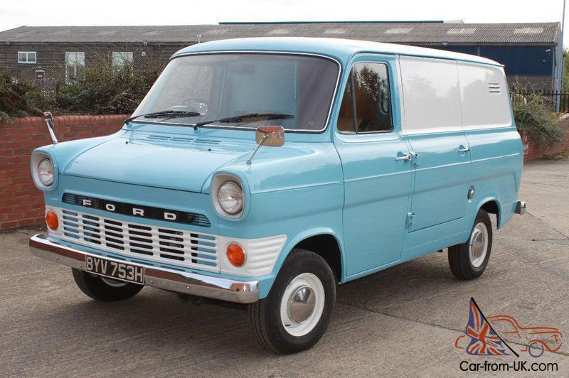 a few days away big discount new specials 1970 FORD TRANSIT VAN MK1. COMPLETELY RESTORED, BEAUTIFUL CONDITION