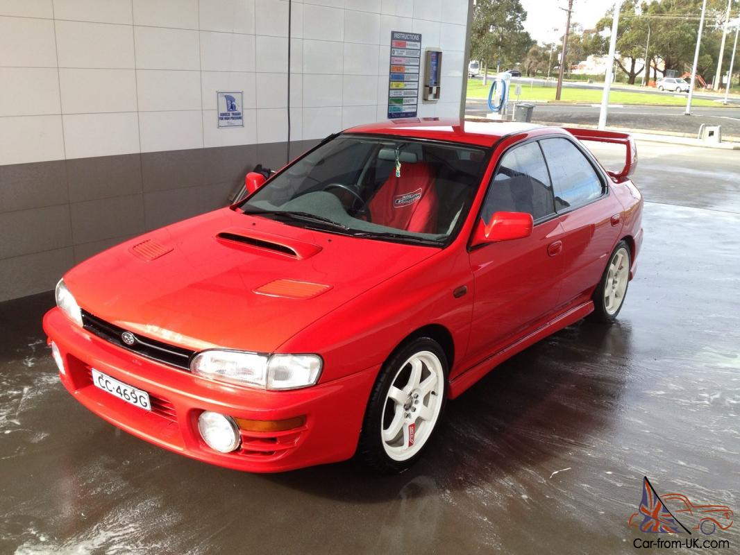 Subaru impreza wrx awd 1994 4d sedan 5 sp manual 2l turbo mpfi in south east