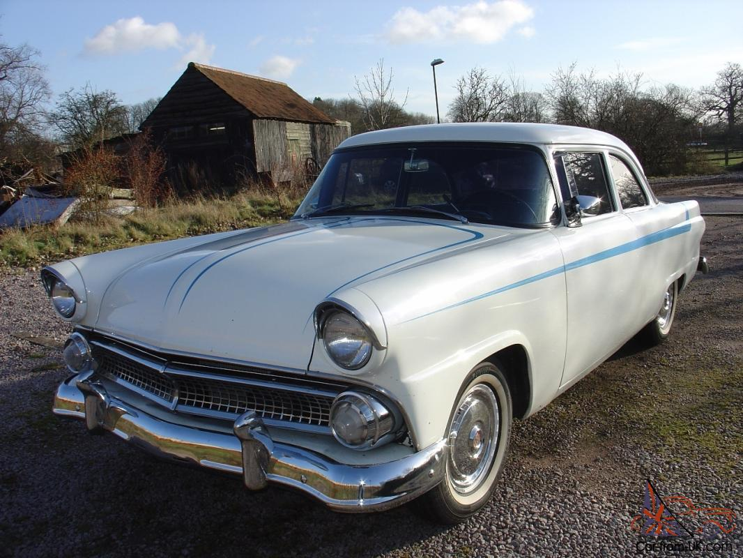 1955 ford fairlane custom 2 dr coupe v8 auto hot rod uk registered drive away