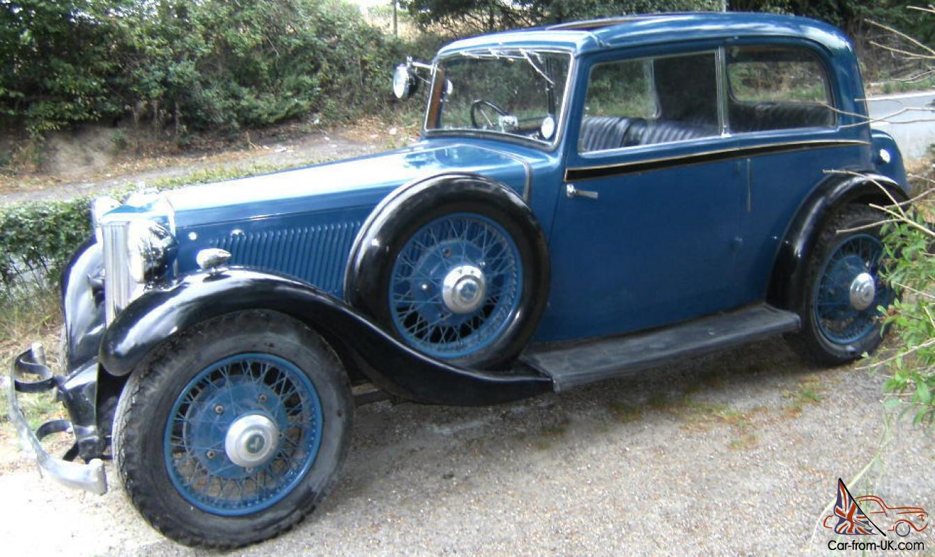 Armstrong Siddeley 17hp Sports Foursome 1934