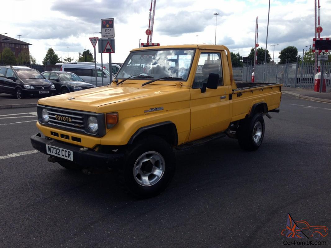 1995 Toyota Land Cruiser J75 Pick Up
