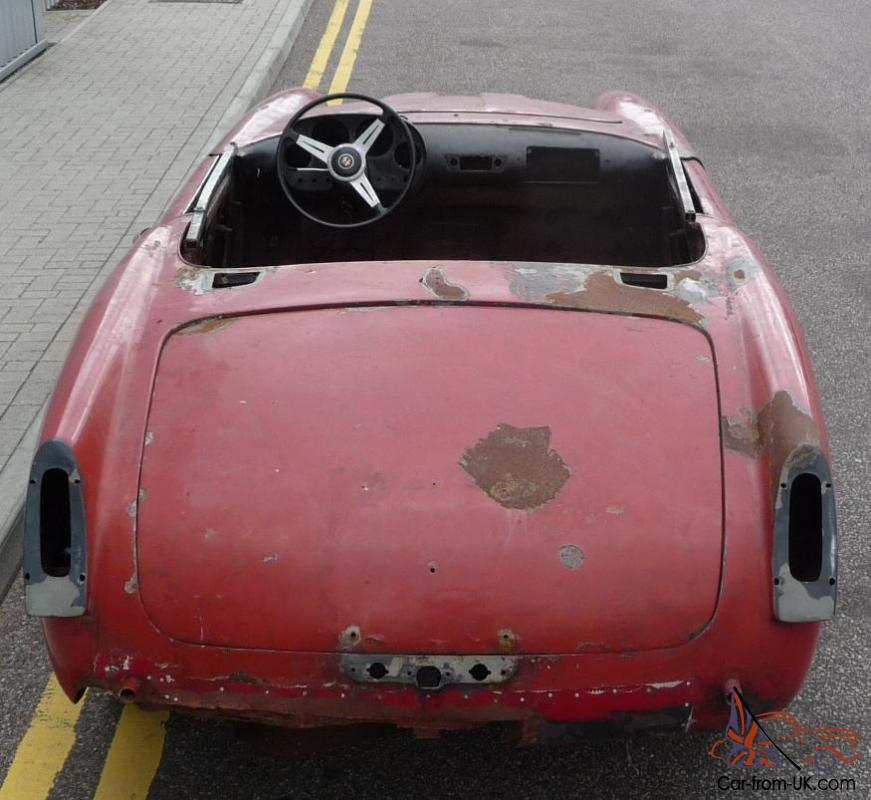 Alfa Romeo 2000 Touring Spider 1959 Restoration Project