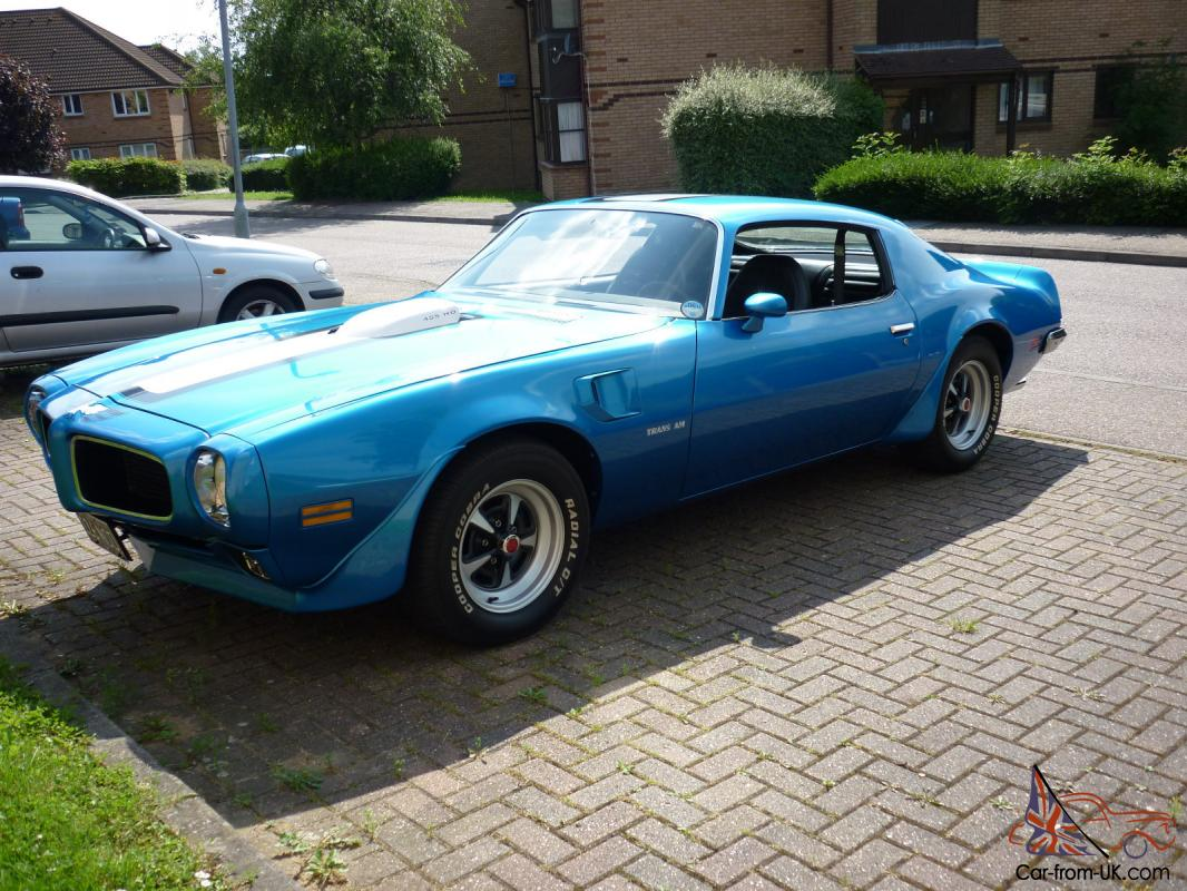 1971 pontiac trans am 455 ho blue