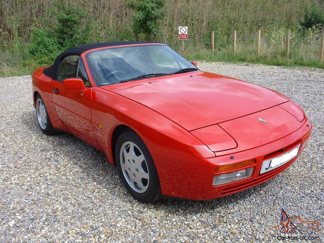 1992 porsche 944 turbo cabriolet one owner 27000 miles. Black Bedroom Furniture Sets. Home Design Ideas