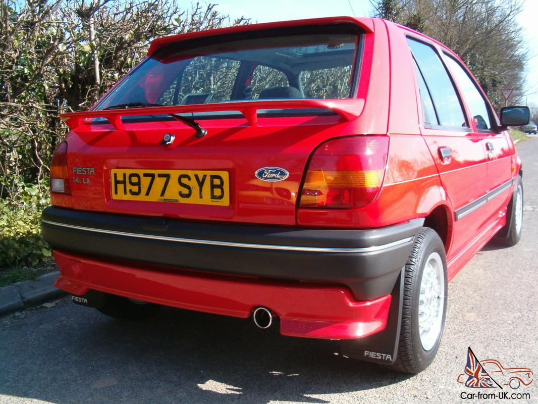 1990 FORD FIESTA...TIME WARP CONDITION... Check Out The