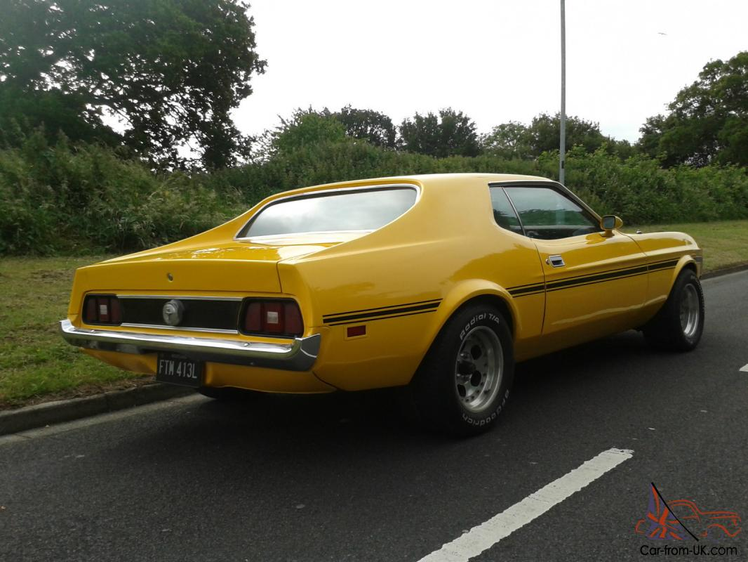 1973 Ford Mustang Hardtop Coupe