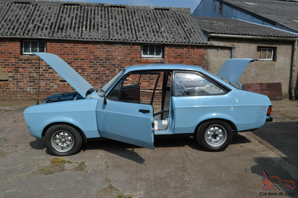 Ford Escort Mk2 1600 Sport Rally car project