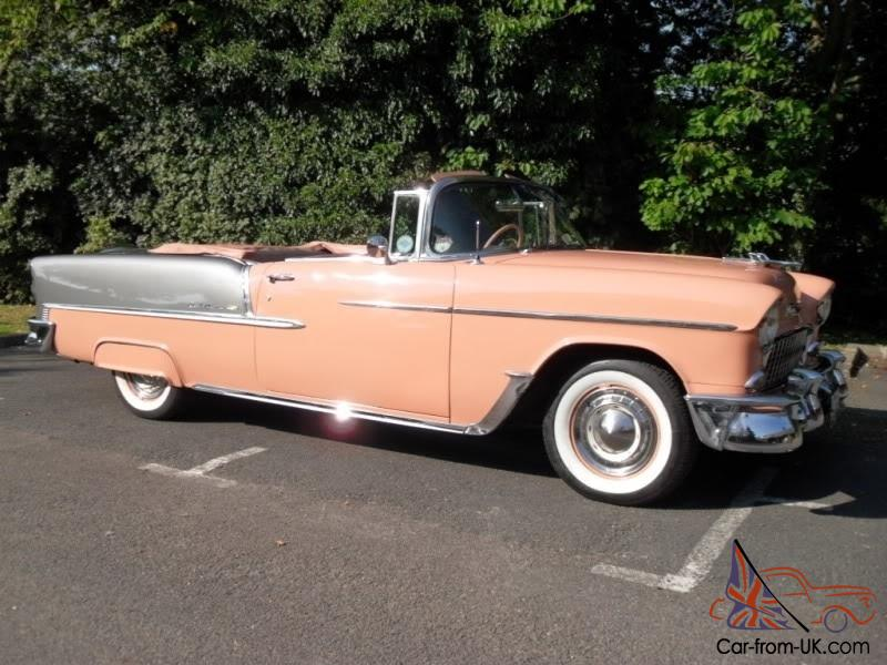 1955 chevrolet bel air convertible like cadillac buick. Black Bedroom Furniture Sets. Home Design Ideas