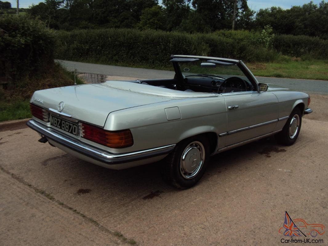1972 mercedes 350 sl private plate tax exempt c w hard top for Mercedes benz sl 350 price