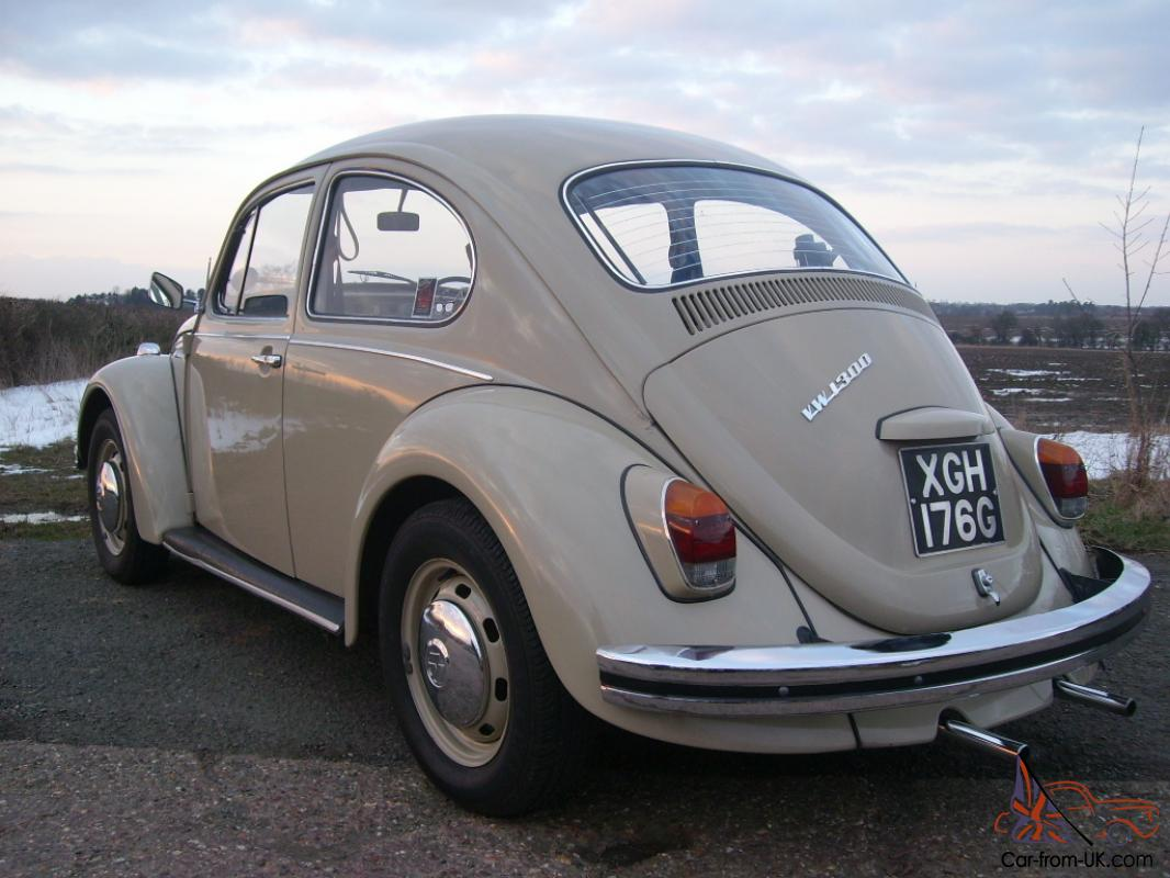 1968 classic vw beetle tax exempt. Black Bedroom Furniture Sets. Home Design Ideas