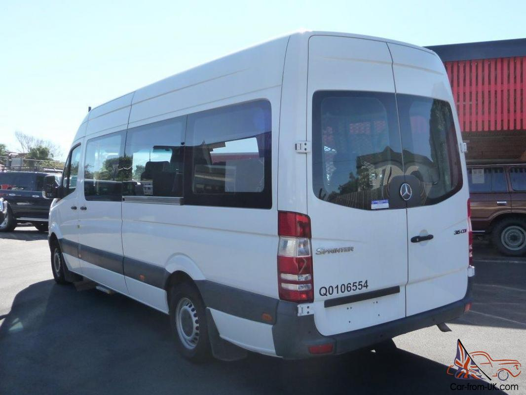 mercedes benz sprinter 315 cdi exl 2008 5door 12 seater. Black Bedroom Furniture Sets. Home Design Ideas