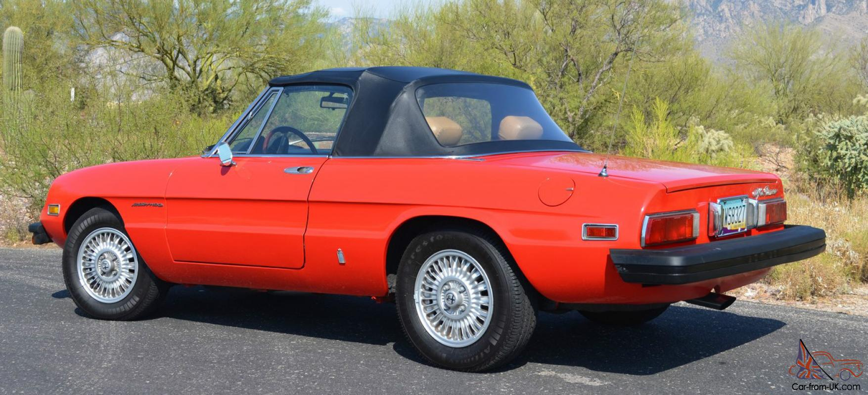 1978 alfa romeo spider veloce convertible 2 door 2 0l. Black Bedroom Furniture Sets. Home Design Ideas