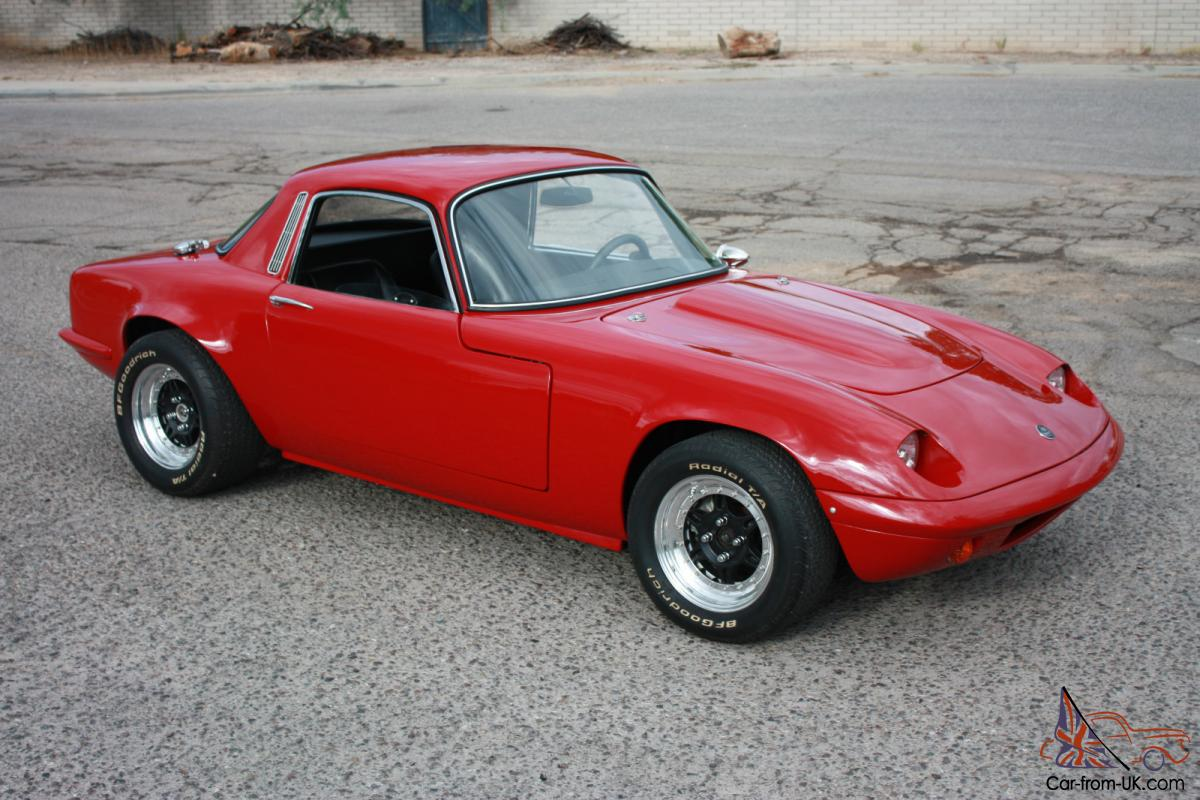 Lotus Elan S4 New Frame Off Restoration