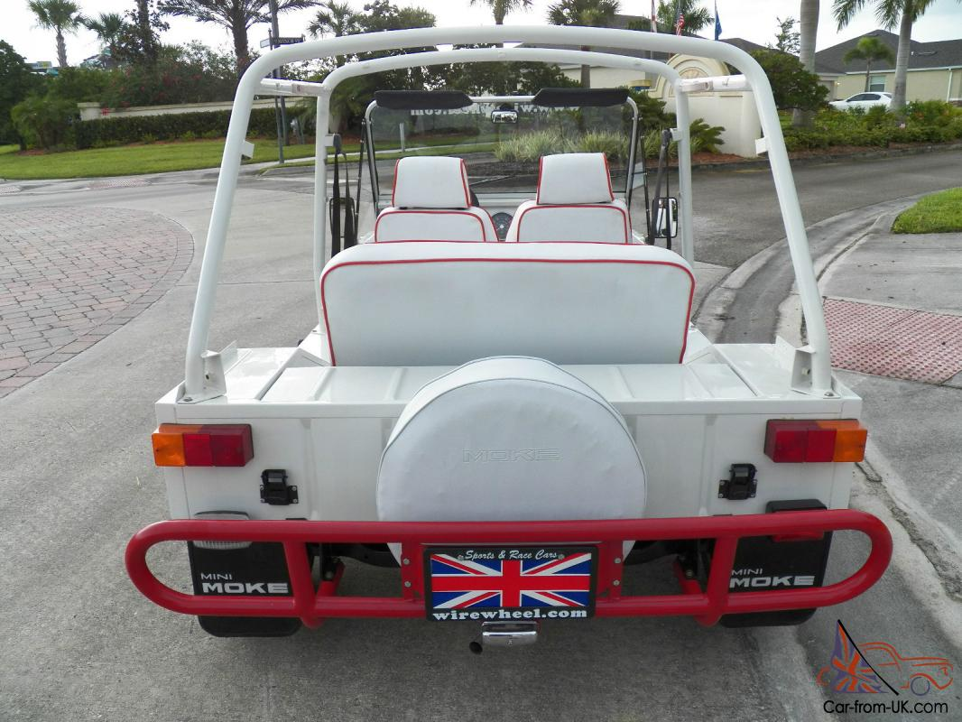 1980 Austin Mini Moke White With Rare Automatic